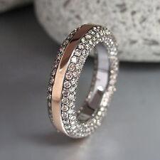 Ring / Memoirering mit 360 Brillanten 2,46ct Braun in 750/18K Weiß-/Rosegold Neu