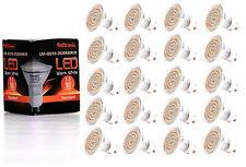 20X GU10 LED Lampe von Seitronic mit 3,5 Watt, 300LM und 60 LEDs Warm weiß 2900K