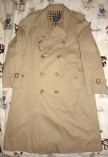 Burberrys Long Heritage Trench Coat 42R London Westminster Men's L Khaki Jacket
