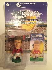 Teddy Sheringham Manchester United Corinthian Pro Star Christmas Special 2001