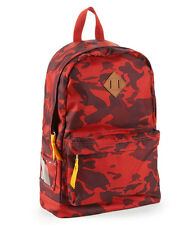 Aeropostale Men's  Camouflage Laptop Backpack Book School Bag Red Sky NWT