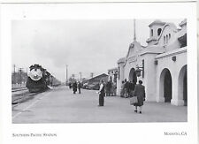 "*Postcard-""San Joaquin Daylight"" @ South Pacific Station-1947-*Modesto Ca.(#104)"