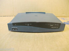 Cisco 837 4-Port ADSL Ethernet Router 1096-02-1802 No AC Adapter