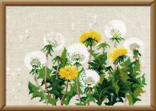 COUNTED CROSS STITCH KIT RIOLIS - DANDELIONS