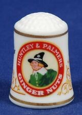 """""""Special Offer"""" Franklin Huntley & Palmer Ginger Nuts China Thimble B/52"""