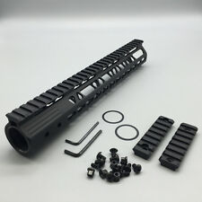 New .223 Ultra Slim Keymod Handguards with Steel Barrel Nut 12 Inch