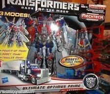 ULTIMATE OPTIMUS PRIME TRANSFORMERS DARK OF THE MOON MIB  FREE U.S. SHIP