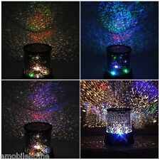 5V Fabulous Starry Projector DIY Star Projector Moon Lamp for Bedroom