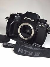 """Near Mint"" Contax RTS III 35mm SLR Film Camera Body Only #1119"