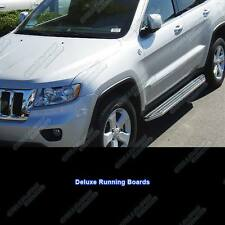 "Fits 2011-2014 Jeep Grand Cherokee 69"" Deluxe Side Step Nerf Running Boards"