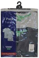D555 DUKE MENS CREW NECK T-SHIRTS 2 PACK TWIN PACK MULTI COLOURS M-XXL (168194)