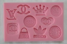 Famous Logo Chocolate/Fondant Silicone Polymer Mold