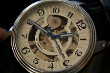 STUHRLING ORIGINAL  AUTOMATIC MECHANICAL SKELETON SILVER DIAL