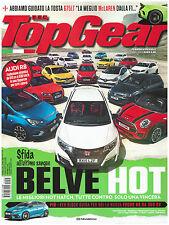 TOP GEAR 95 HOT HATCH '15 TUTTE CONTRO AUDI R8 FORD FOCUS RS JAGUAR PROJECT 7