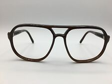 Bolle Irex 100 Brown Ombre Aviator Sunglasses frames Made In france 1980's Youth