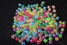 transparent round acrylic beads - jewellery making - childrens jewellery