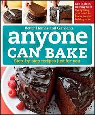 ANYONE CAN BAKE - BETTER HOMES AND GARDENS BOOKS (HARDCOVER) NEW