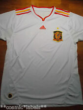VINTAGE ADIDAS SPAIN MENS NATIONAL SOCCER TEAM JERSEY SIZE LARGE. VERY NICE