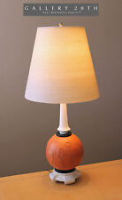 RARE!!!! MID CENTURY MODERN EGYPTIAN ATOMIC TABLE LAMP! Vtg 1950s Laurel Eames