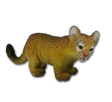 AAA 96552R Baby Cougar Mountain Lion Cub Looking Right Puma Toy Replica - NIP