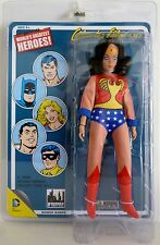 "WONDER WOMAN DC Comics Retro Style 8"" inch Figure Series 1 Mego Art Card 2014"
