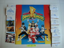 PANINI  EMPTY ALBUM + ALL 240 STICKERS OF POWER RANGERS