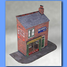 Terraced Shop 7mm Scale Model Kit Ideal For O Gauge Or 1:43 Car Diorama
