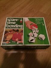 1971 1974 VintagE Lakeside SPARE-TIME BOWLING Table Top Dice Game - Complete MT