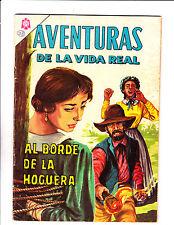 "Aventuras De La Vida Real No 111 -1965 -Spanish -    "" Bondage / Fire Cover! """