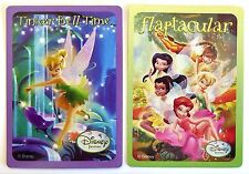 PAIR SWAP CARDS. DISNEY FAIRIES. TINKERBELL FAIRY & FRIENDS. WIDE. MINT