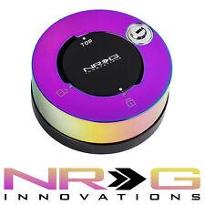 NRG Steering Wheel Quick Release Hub LOCK - NEO CHROME   SRK-101MC 2.0 2.5 3.0