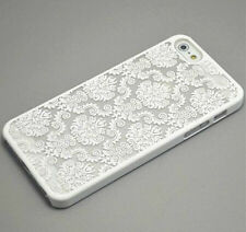 Damask Floral Design Hard Case Cover Compatible iPhone 5/5S 6/6Plus 6S/6SPlus