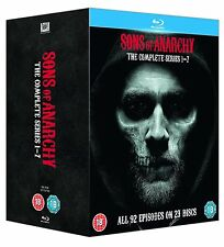 "Sons of Anarchy Complete Seasons Series 1 2 3 4 5 6 & 7 Blu ray Box Set RB ""Xmas"
