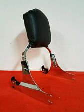 HARLEY SOFTAIL QUICK DETACH CHROME BACKREST 330-03 -FITS 2006-2016 VERY NICE