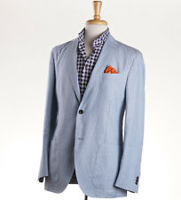 NWT $1595 LUCIANO BARBERA Unstructured Linen-Cotton Sport Coat 40 R (Eu50)
