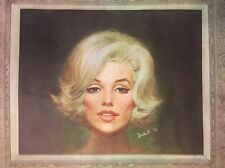 Marilyn Monroe Vintage Poster Headshop Pin-up Sexy 1974 Marchetti Celebrity