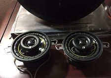 "BMW 745 Pair Kicker DS350  3.5"" 3 1/ 2-Way Door Panel Car Stereo Speakers"