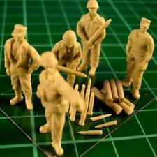 Milicast FIG012 1/76 Resin WWII USA Marines Field Gun Crew