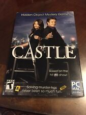Castle: Hidden Object Mystery Game (PC, 2013) SEALED