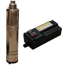 Bomba Pozo Profundo Para De Agua 1200L/H 230V Incl. Schalt Caja