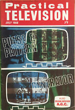 Practical Television Magazine - July 1968 - Colour Receiver A.G.C.