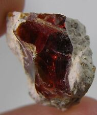 17.80ct Mexico 100%  Natural Raw Rough Fire Opal Matrix Crystal Specimen 3.55g