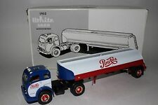 First Gear 1953 White 3000 Tractor with Tank Trailer, Pepsi Cola 1/34 scale