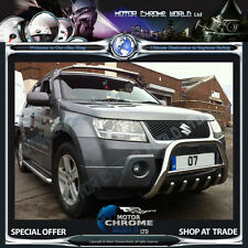 SUZUKI GRAND VITARA BULL BAR CHROME AXLE NUDGE 60mm 2010+UP EXTREME OFFER NEW