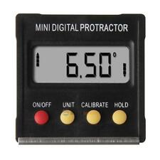 360°Mini Digital Protractor Inclinometer Angle Finder Meter with Magnetic Base