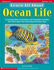 Learn All About: Ocean Life: A Learning Bank of Information and Irresi-ExLibrary