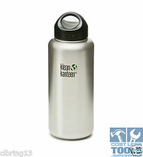 Klean Kanteen 40oz (1182ml) Wide-Mouth 100% Stainless Interior Water Bottle