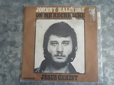 SP JOHNNY HALLYDAY /JESUS CHRIST/on me recherche/ 9 R083