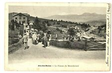 CPA 73 Savoie Aix-les-Bains Plateau du Mt-Revard animé