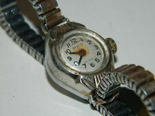 for parts OLD Watch ANCIEN MONTRE PAT uhr VINTAGE incabloc BRACELET ELASTIQUE